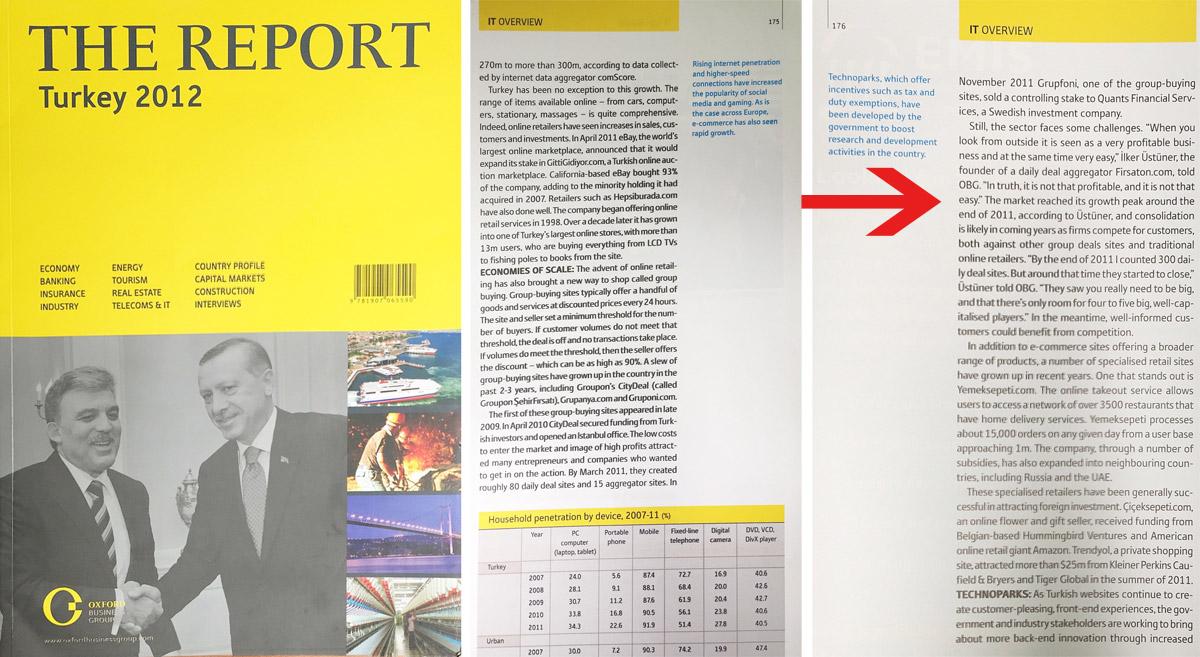 Oxford Business Group Türkiye 2012 Raporu