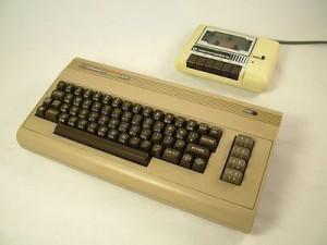 C64 ve kafa ayarı ile uğraştıran kaset ünitesi