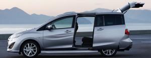 Mazda 5 sürgülü kapı