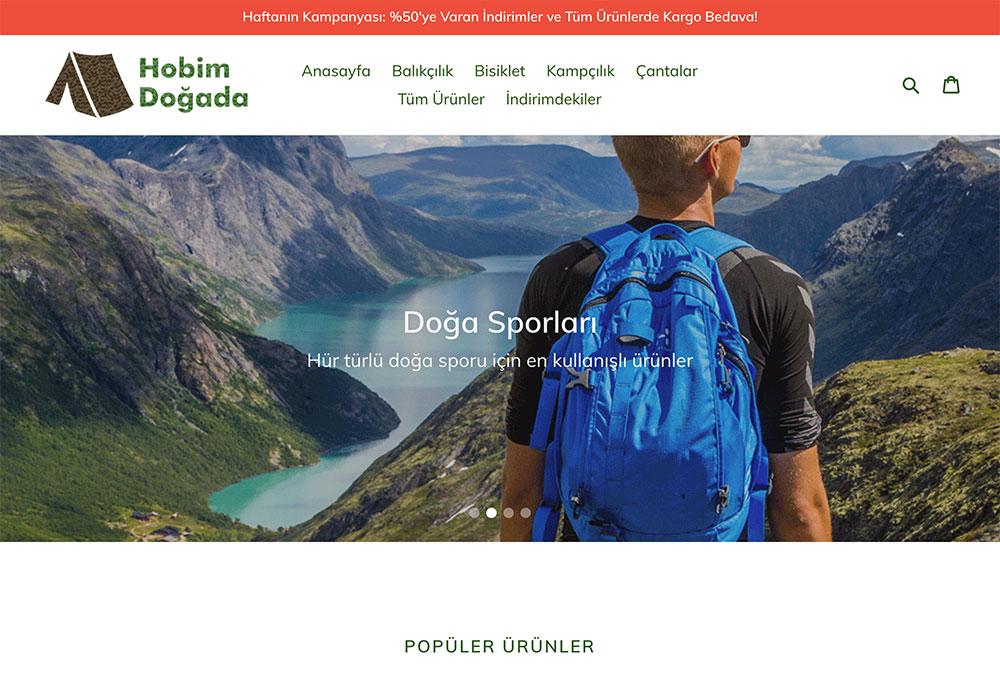 Doğa Sporları Mağazası: Hobim Doğada