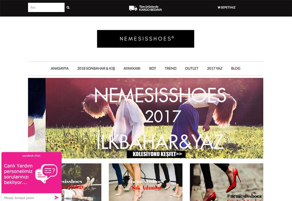 Ayakkabı Mağazası: Nemesis Shoes