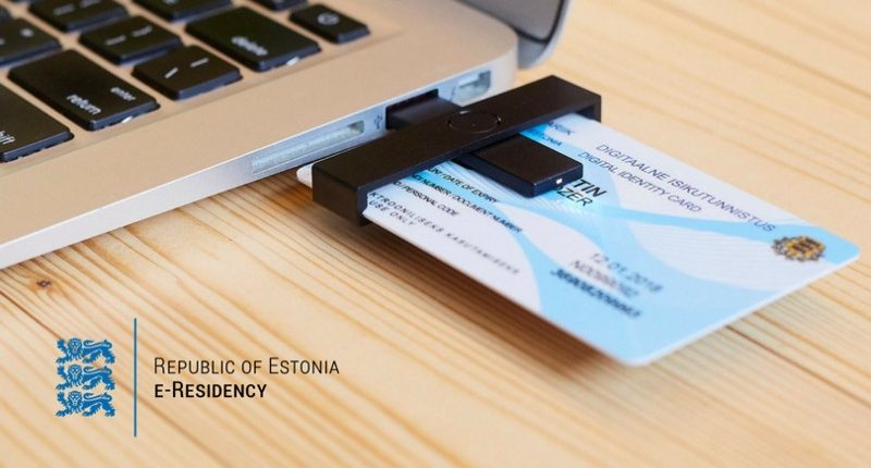 Estonya e-Resident dijital kartı